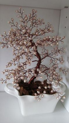 cultured pearl tree - A huge one like this would look great in there.