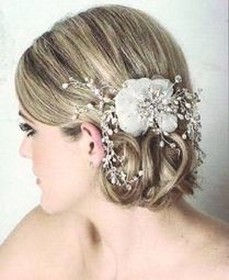 Royal Collection - Freshwater pearl crystal flower bridal comb - SALE!!