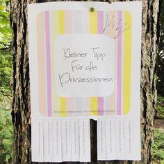 Kleiner Tipp für alle Prinzessinnen - zum Download hier: http://inesfelix-kreativ.blogspot.com/2015/05/trage-immer-deine-unsichtbare-krone.html
