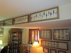 Antique Lure Cases - This guy is serious about his fishing lure collection!!!