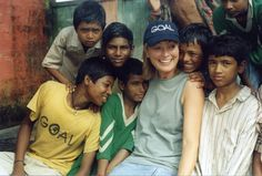 Mary Kennedy visits GOAL in India