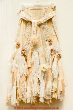 Rhiannon Hippie Boho Gypsy Wedding Recycled by RagsForGypsies