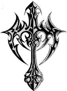 tribal cross tattoos | Tribal Cross Tattoos - Photos & Flash, all styles and positions