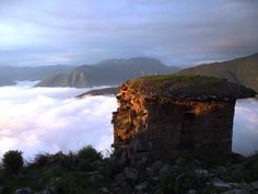 Atardecer en Rupac, en la sierra de la Provincia de Huaral, departamento de Lima.