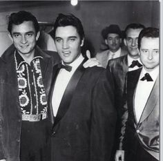 Elvis and Johnny Cash, bad asses.