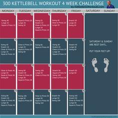 300 kettlebell challenge