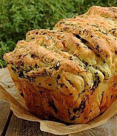 Изумительный рецепт вкуснейшего отрывного хлеба..