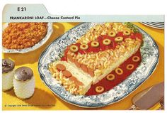 """Frankaroni Loaf. Amphetamines and OCD must have had a part in this recipe--""""these are round! OK!!"""""""