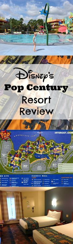 Review of Pop Century Resort in Disney World - Is it really a good value for the money?