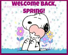 Welcome back spring! via www.Facebook.com/OurMindsMeadow