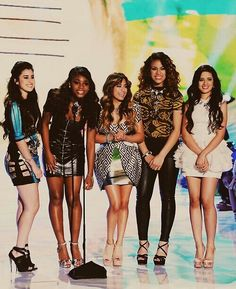 Fifth Harmony at the Awards.