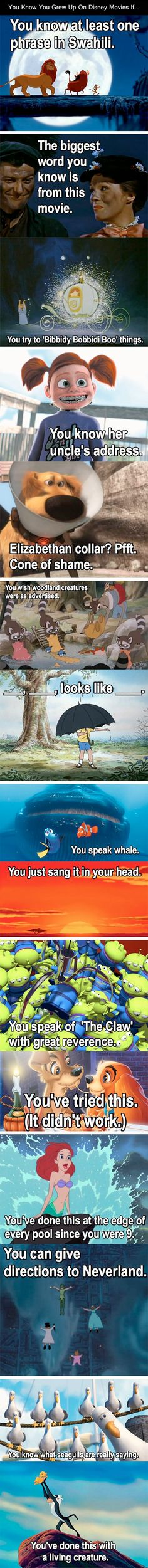 From tumblr and this: http://justfunnypics.net/post/54337659048/you-know-you-grew-up-on-disney-movies-if#.UiViV7xp37c