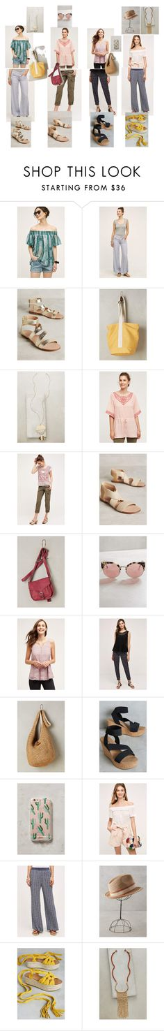 """""""Vacation Looks via Anthro Stylist 3"""" by tls63 ❤ liked on Polyvore featuring HD in Paris, Hei Hei, Splendid, Anthropologie, one.september, CNP, RetroSuperFuture, Deletta, Lilka and Buji Baja"""