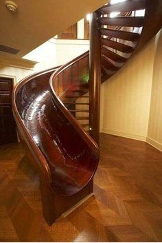 going down the stairs is the easy part anyways.. i need this is my house one day..