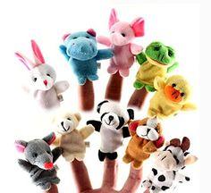 6 Finger Puppet Set