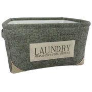 Picture of Gray Mens Nesting Fabric Laundry Hamper