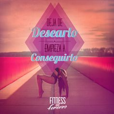 Deja de desearlo, empieza a conseguirlo. Fitness en femenino. Pilates Quotes, Pilates Video, Gymaholic, I Can Do It, Workout, Aerobics, Kickboxing, Weight Loss Motivation, Fitspiration