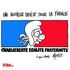 Charlie Hebdo est devenu un symbole de la liberté d'expression - Dessin du jour - Urtikan.net