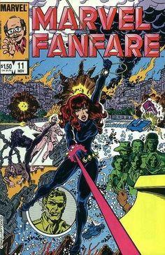 Marvel Fanfare Vol 1 11 Bronze Age Comic by RubbersuitStudios Rare Comic Books, Comic Books For Sale, Comics For Sale, Comic Book Covers, Comic Books Art, Book Art, Loki Thor, Loki Laufeyson, Marvel Comics