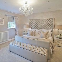 Stylish room designed for simplicity with a touch of glamour and style