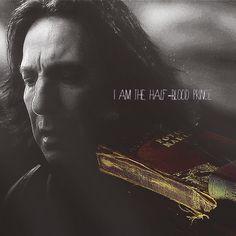 Severus Snape is the Half Blood Prince Phoenix Harry Potter, Harry Potter Fan Art, Harry Potter World, Professor Severus Snape, Alan Rickman Severus Snape, Supernatural Season 12, Hogwarts, Slytherin, Prisoner Of Azkaban