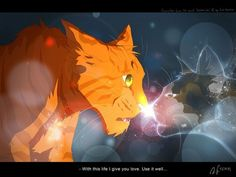 Fireheart and spotedleafs spirit