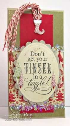 Tinsel Tangle Tag