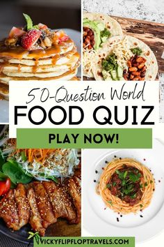 This is a printable food quiz for you to play by yourself or with friends. If a question is about food, a country etc. have a little chat about it before moving to the next question. Quizzes don't have to be competitive, the main objective is to have fun. But, if you want to be more serious about it, make teams of equal ability and have a quiz competition. How well do you know your babaganoush from your taramasalata – and other food quiz questions. #foodquiz #quizfood #quiz Quiz Questions And Answers, Question And Answer, This Or That Questions, Food And Drink Quiz, Eastern Eggs, Greece Food, Baba Ganoush, Sushi Chef, Citrus Juice