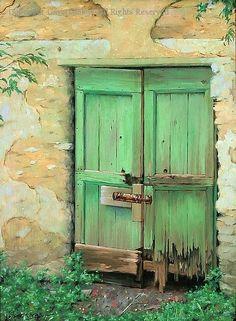 Best Door in Tuscany by Gavin Glakas