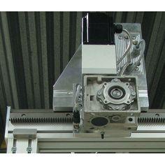 DCNC LSM 80x80L Rack & Pinion R=custom DIY | DamenCNC B.V.