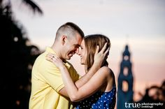 Featured Engagement Shoot: A Late Afternoon Photo Shoot at Balboa Park   Aly  Christopher / from truephotography.com