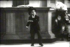 A very young Sammy Davis Jr. tap dancing