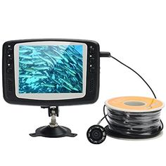 Fishing: Fly Bird Underwater Fishing Camera - 30 Meter Line, 8 IR LEDs, 3.5 Inch Monitor, 2600mAh >>> You can get more details by clicking on the image.