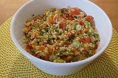 Couscoussalat mit Tomaten und Möhren (Rezept mit Bild) | Chefkoch.de