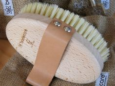 Dry Body Brushes - dry or over dry oil, improves circulation, lymph movement, cellulite and even weight loss