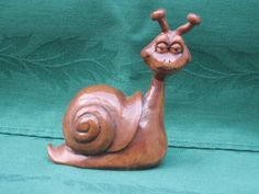 Snail...Not For Sale RWK Woodcarving https://www.rwkwoodcarving.etsy.com