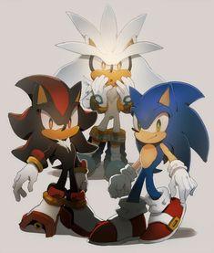 Resultado de imagen para sonic shadow y silver