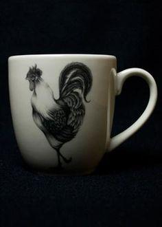 Laura Zindel Rooster Mug