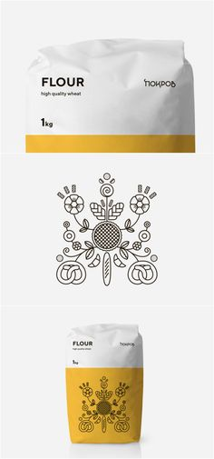 Traditionally Modern and Beautiful Ukrainian Flour Packaging Design Design Agency: Glad Head Brand / Project Name: Pokrov Location: Ukraine Category: World Brand & Packaging Design Society Chip Packaging, Kids Packaging, Cheese Packaging, Food Packaging Design, Packaging Design Inspiration, Brand Packaging, Branding Design, Product Packaging, Bakery Branding
