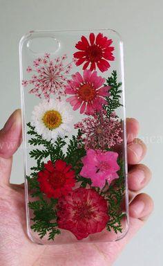 iphone 5 case Pressed Flower iphone 6 case iphone 6 plus