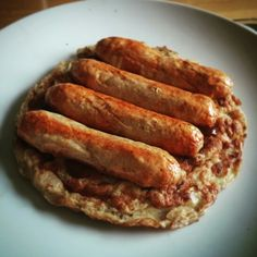 Onion omelette with SW sausages from iceland. Syn Free Breakfast, Slimming World Recipes, Sausages, Omelette, Iceland, Onion, Dishes, Healthy, Food