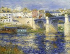 Pierre-Auguste Renoir Le Pont de Chatou