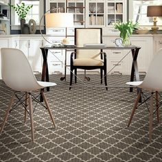 Dynamic Vision from Floorigami is a DIY residential carpet tile/carpet square from Shaw Floors. This stylish option is great for homes with kids, pets, and life in general. This patterned carpet tile is great for wall to wall or a custom area rug. Shaw Carpet, Grey Carpet, Calacatta Tile, 12x24 Tile, Home Bedroom, Bedroom Decor, Bedroom Ideas, Master Bedroom, Master Closet