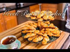 Greek Butter Cookies/ Koulourakia Ube Recipes, Dessert Recipes, Turkish Recipes, Greek Recipes, Koulourakia Recipe, Arancini Recipe, Greek Cookies, Cannelloni Recipes, Greek Desserts