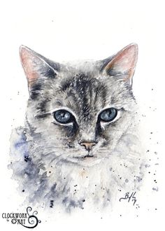 Pet Portraits - Art Clockwork - Braden Duncan | Peintre (Braden ...