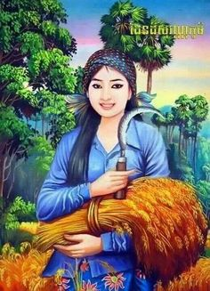 Image result for khmer woman