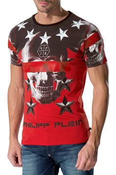 "PHILIPP PLEIN - Official Website | T-SHIRT ""CRYPTIC"" 