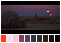 Cinema Palettes: conheça a paleta de cores de grandes produções do cinema! | | Garotas Geeks