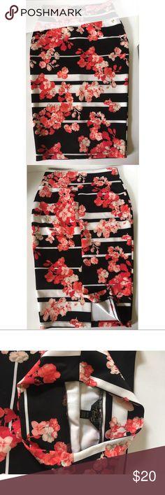Selling this Flower pencil skirt on Poshmark! My username is: alext07. #shopmycloset #poshmark #fashion #shopping #style #forsale #thalia #Dresses & Skirts