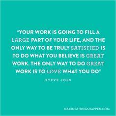 Why I do what I what I do!
